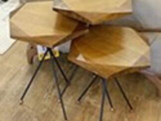 SET OF 3 ALTO-CVZ SOLID WOOD COFFEE TABLES