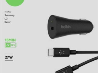 Belkin Car Charger QC4.0 USB-C + Cable