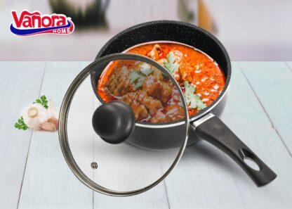 Aluminum casserole + lid 20x9CM, 2.4L, SOLE