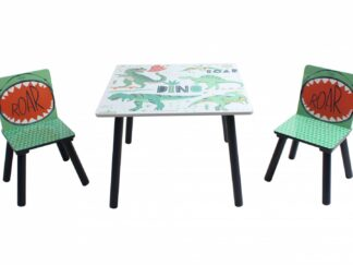 Set of 2 chairs + Dinosaurs desk