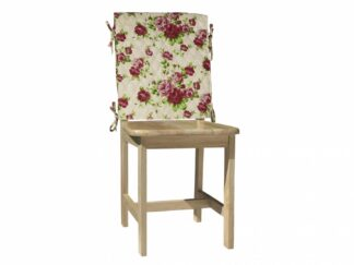 Back Cover Chair 47X100 CM-Pink flowers