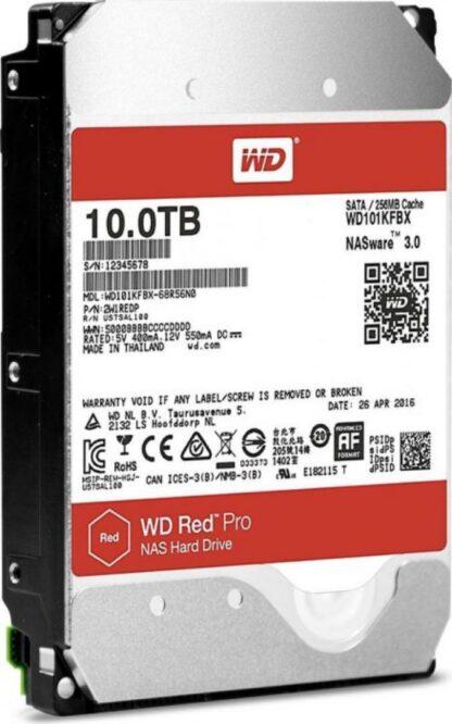 WD HDD3.5 10TB SATA WD102KFBX RED PRO