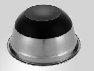 Satin stainless steel bowl, non-stick base 20 CM