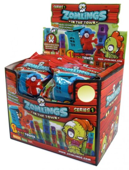 Zomlings – blister with tower and figurines