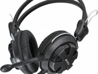 HEADPHONES + MIC A4TECH HS-28 BLACK