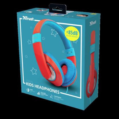 Trust Sonin Kids Headphones - red