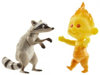 SET OF 2 STATUETTES JACK-JACK AND THE MOUSE, 30.5 CM
