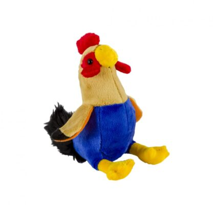 Plush rooster, 15 cm