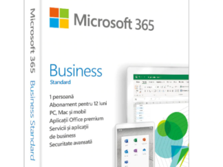 Retail Cloud License Microsoft 365 Business Standard English Subscription 1st Medialess P6