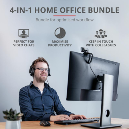 Trust Qoby 4-in-1 Home Office Set
