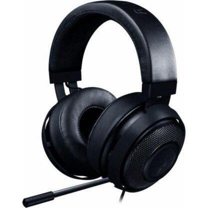 RAZER KRAKEN BLACK gaming headphones and microphone