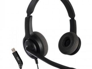 HEADPHONES AXTEL VOICE USB28 DUO NC