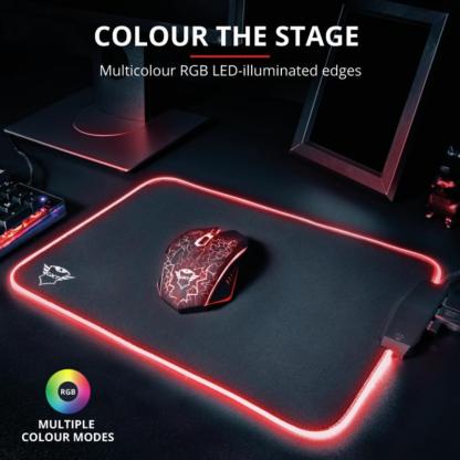 Trust GXT 765 Glide-Flex RGB Mouse Pad