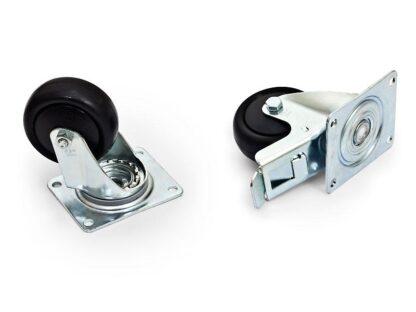 TRITON SET 4wheels (2 with  break) MAX.800KG