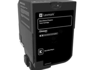 LEXMARK 84C2HKE TONER CARTRIDGE BLACK