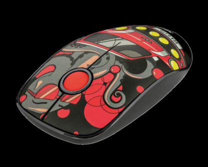 Trust Sketch Silent Click Yes Mouse red