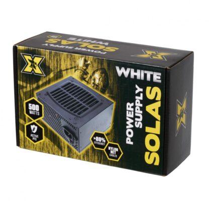 PSU PC SERIOUX SOLAS WHITE 500