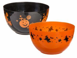 Plastic bowl, Halloween
