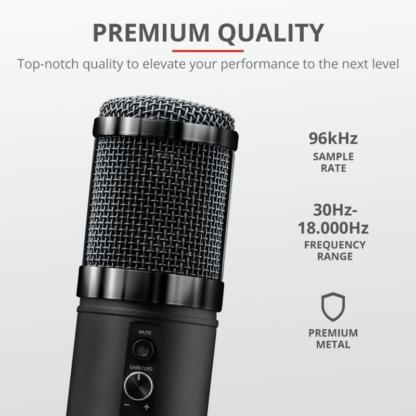 Trust GXT256 EXXO Streaming Mic USB