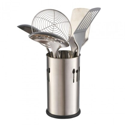 support USTENSILE stainless steel,D:10 CM,H:18 CM