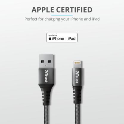 Trust Keyla Strong USB To Lightning 1m