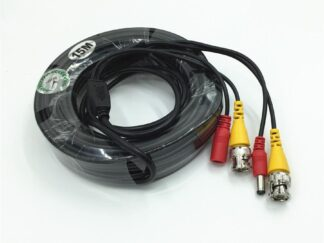 VIDEO CABLE + POWER SUPPLY 15M