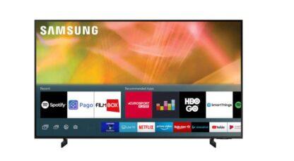 "LED TV 65"" SAMSUNG UE65AU8072UXXH"