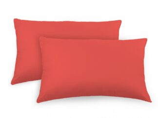 SET 2 pillow cases 50X70 CM- Red