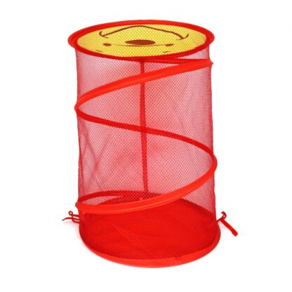 foldable round basket+cover 35 X 49 CM