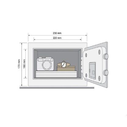 SAFE BOX YALE STANDARD RESIDENTIAL MINI