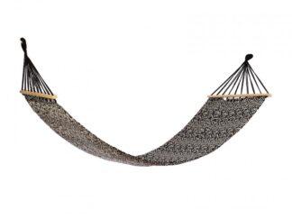 HR hammock GEOMETRIC BLACK & WHITE  200x80
