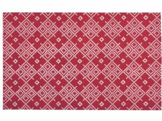 Kitchen towel flowers red 45X70CM