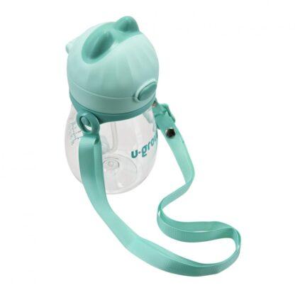Straw cup and belt, tritan 330 ml