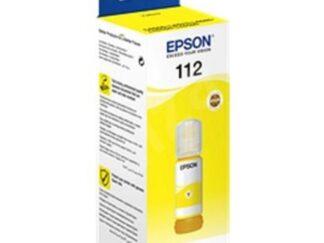 EPSON 112 PIGMENT YELLOW INK BOTTLE