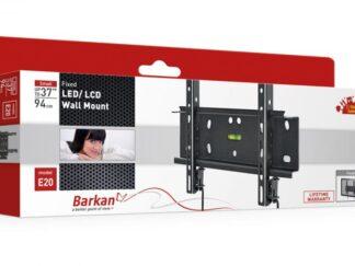 "TV MOUNT BARKAN E20.B 26""-39"" fixed Black"