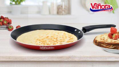 Aluminum pancake pan 24x2.3 CM, PARTY