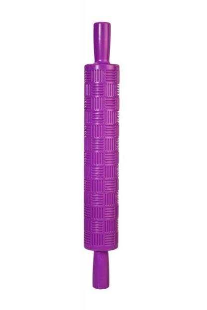 Rolling pin purple marzipan 36.5X5 CM