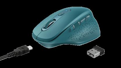 Trust Ozaa Rechargeable Wireless Mouse Blue