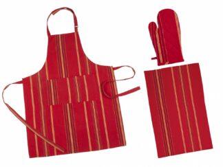 Kitchen set 3 pieces - Red