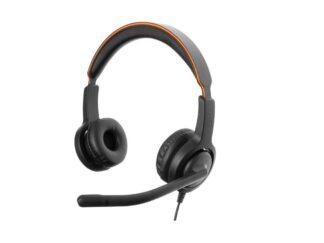HEADPHONES AXTEL VOICE DUO NC