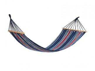 HR hammock RED & BLUE STRIPES 200x80