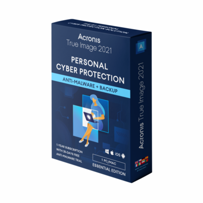 Acronis True Image Essentials Subscription 1 device 1Year