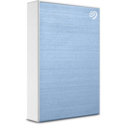 Seagate external HDD 5TB USB 3.1 ONE TOUCH BLUE