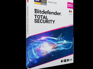 Bitdefender Total Security 2021 License 3 Devices 1 year Retail