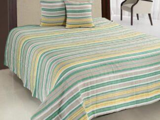 Double bed blanket set 200X220CM Green