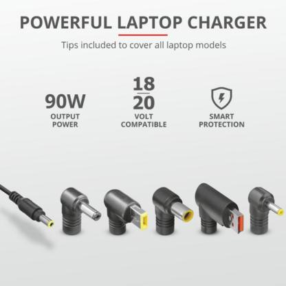 Trust Maxo 90W Laptop Charger for Lenovo