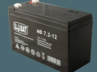 VRLA AGM 7Ah 12V MB7.2-12 BATTERY