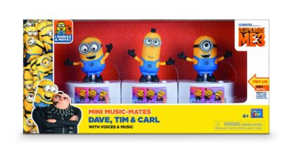 DM3 Set of 3 figurines, 9 CM, various characters