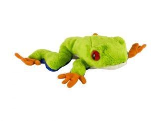 Plush tree frog, 16.5 cm