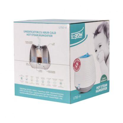 Hot Steam Humidifier U-Grow U750-H